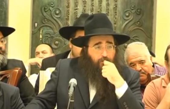 הרב פינטו מוסר על פרשת קרח שהתקיים באשדוד